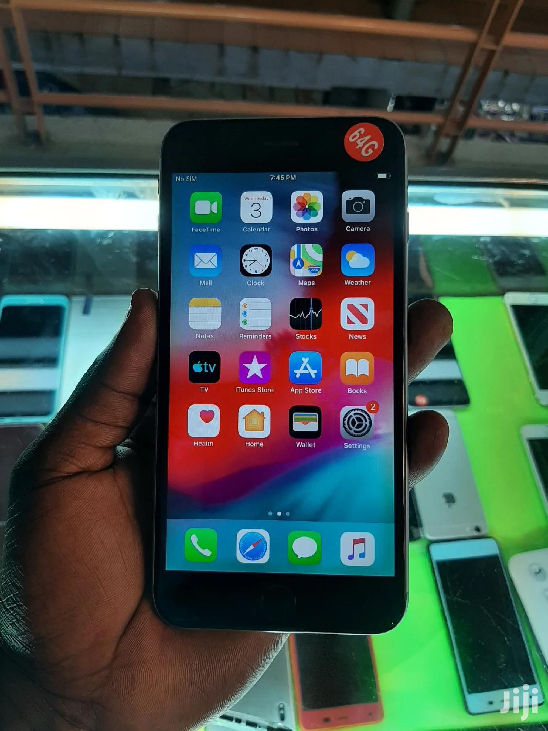 Archive: Apple iPhone 6 Plus 64 GB Silver