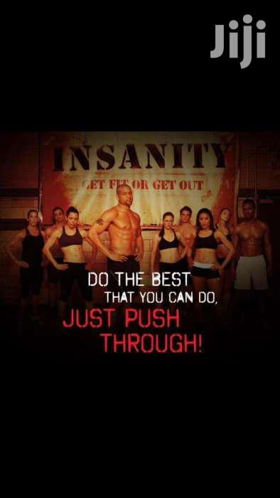 Insanity 60day Workout DVD