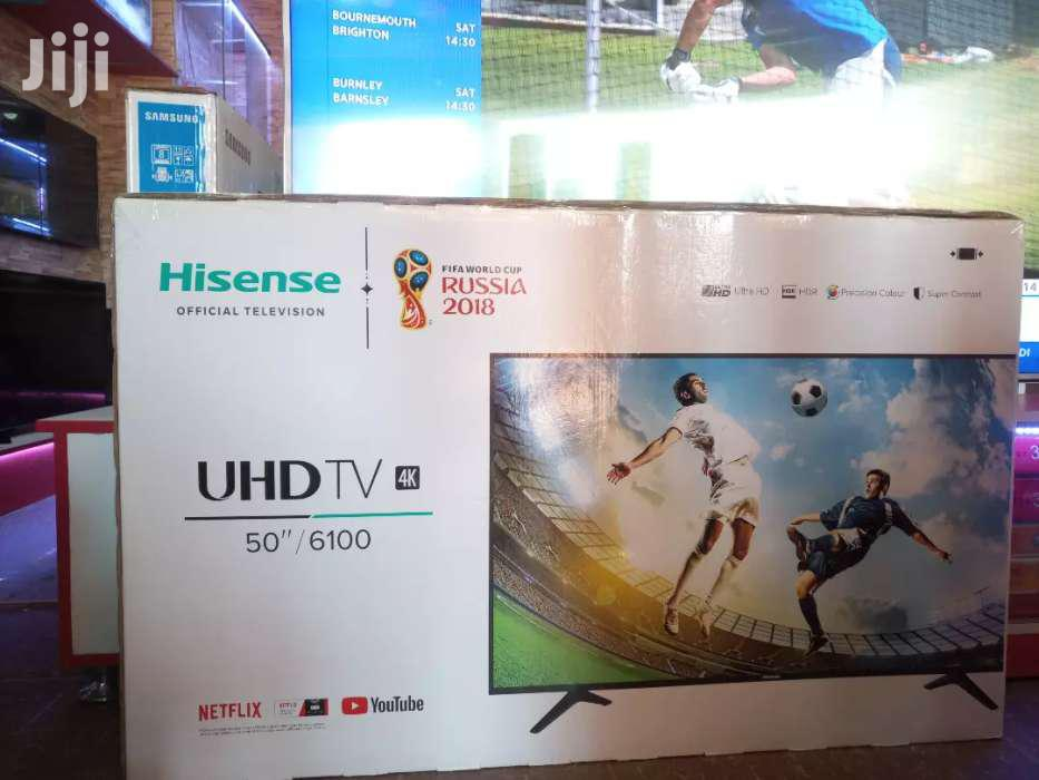 Hisense 50inches Smart UHD 4K | TV & DVD Equipment for sale in Kampala, Central Region, Uganda