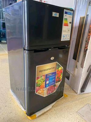 ADH 98L Double Door Fridge Black | Kitchen Appliances for sale in Central Region, Kampala
