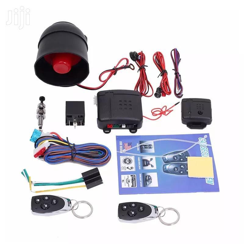 Universal Car Buglar Car Alarm Systems