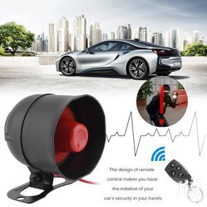 Vehicle Anti Theft Car Security Alarm System