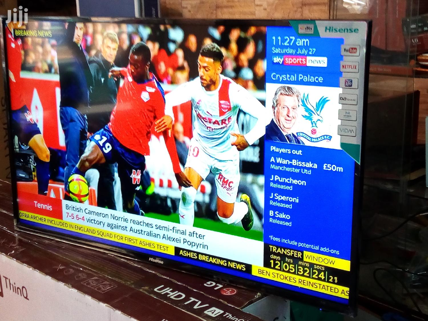 Brand New 43 Inch Smart Android Hisense LED Full HD Flat Tvs