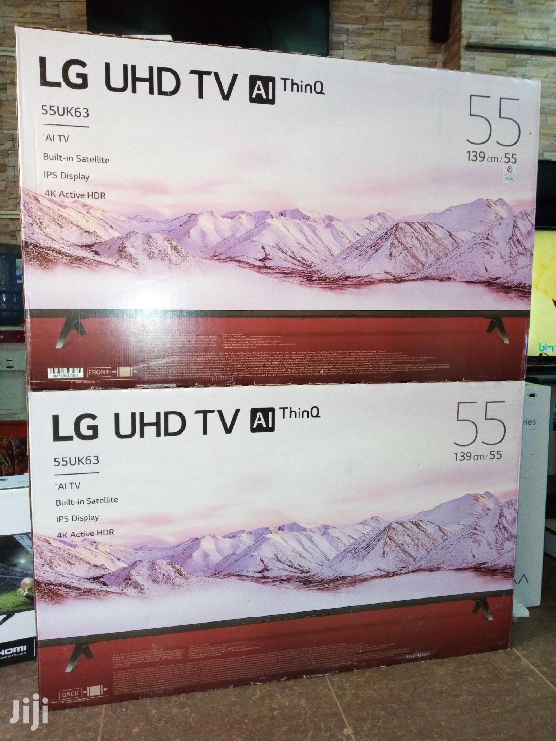 "Brand New 2019 55"" LG AI Thinq 4k UHD LED Smart Tvs 