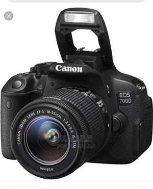 Canon EOS 700D With 18 - 55mm Lens   Photo & Video Cameras for sale in Central Region, Kampala