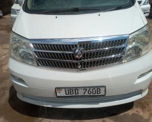Toyota Alphard 2003 White   Cars for sale in Central Region, Kampala