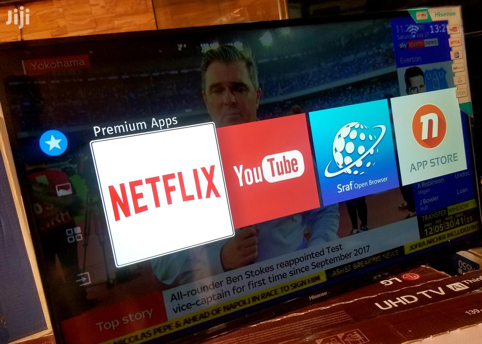 Brand New Hisense Smart TV 55 Inches | TV & DVD Equipment for sale in Kampala, Central Region, Uganda