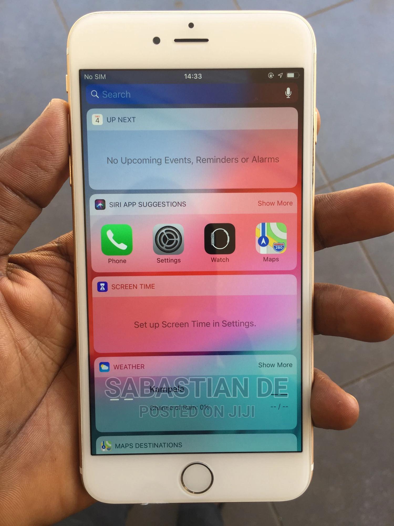 Apple iPhone 6 64 GB Gold   Mobile Phones for sale in Kampala, Central Region, Uganda