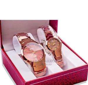 Couple Analog Stainless Steel Watches | Watches for sale in Central Region, Kampala