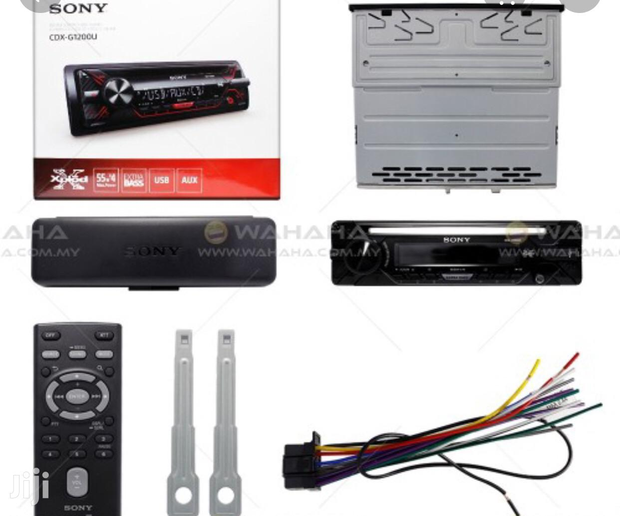 SONY Cdx-g1200u Cd USB Aux In Car Radio Stereo Player