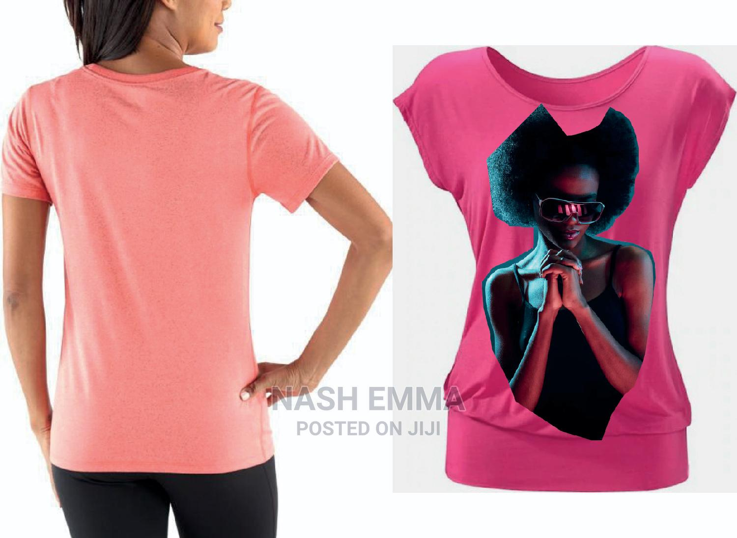 New Ladies Tops T-Shirts   Printing Services for sale in Kampala, Central Region, Uganda
