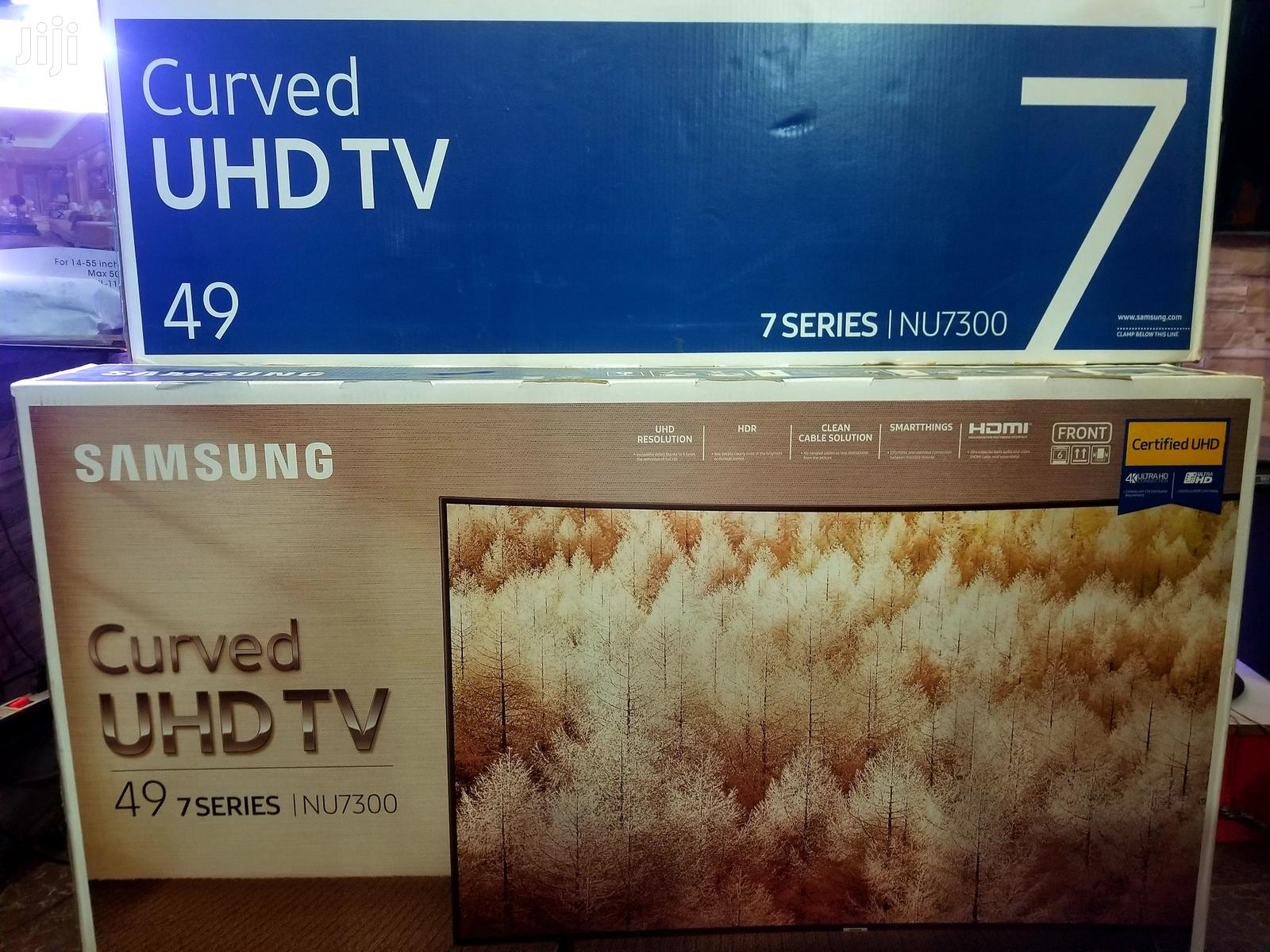 New Samsung 49inches Curved Smart UHD 4k TV