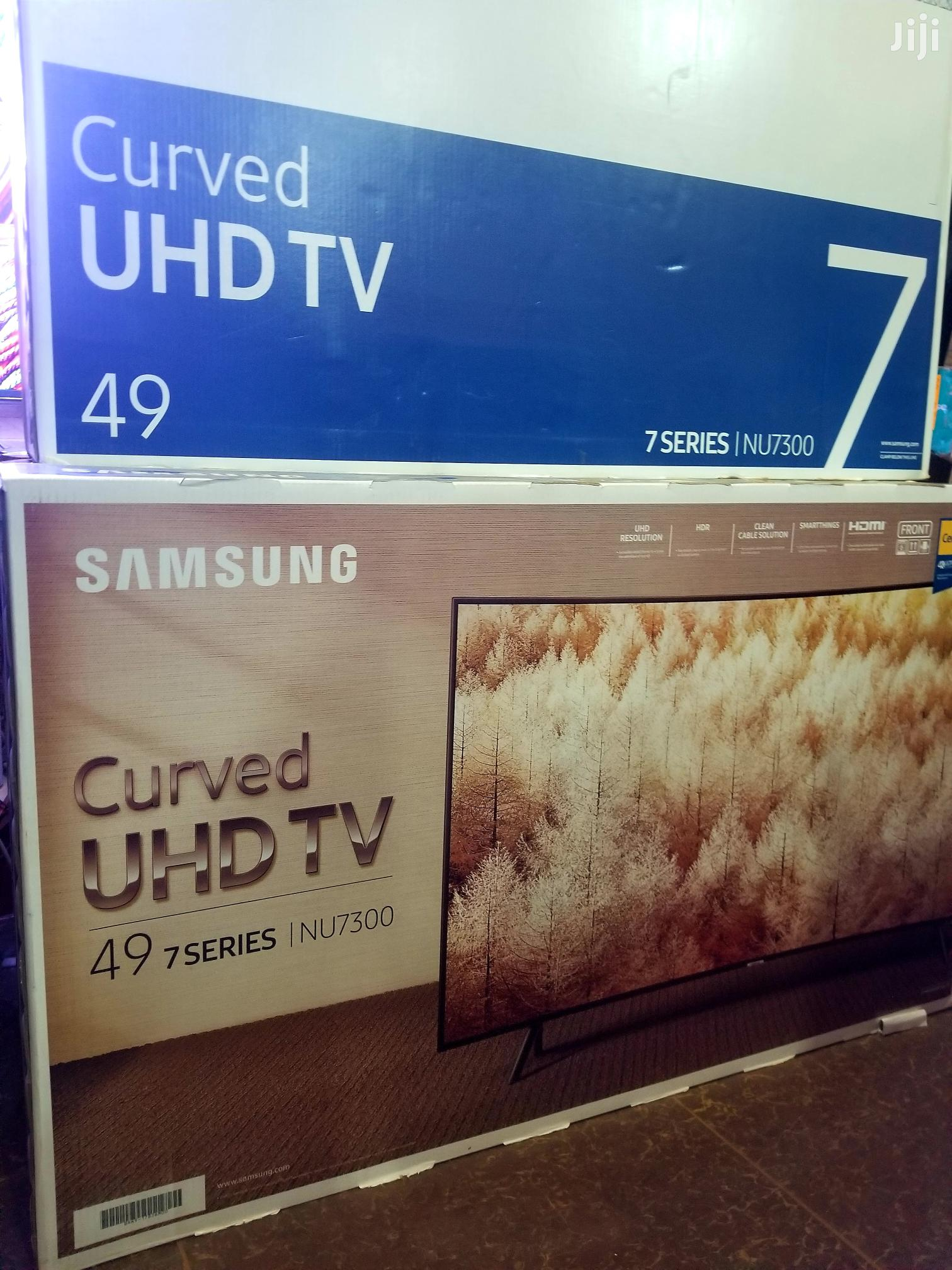 New Samsung 49inches Curved Smart UHD 4k TV | TV & DVD Equipment for sale in Kampala, Central Region, Uganda