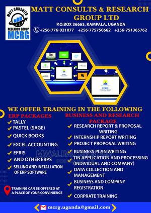 Installation and Training in Erp Software Packages (Tally, Q | Computer & IT Services for sale in Eastern Region, Jinja