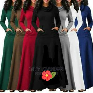Beautiful Nice Long Dress, Streching Material | Clothing for sale in Central Region, Kampala