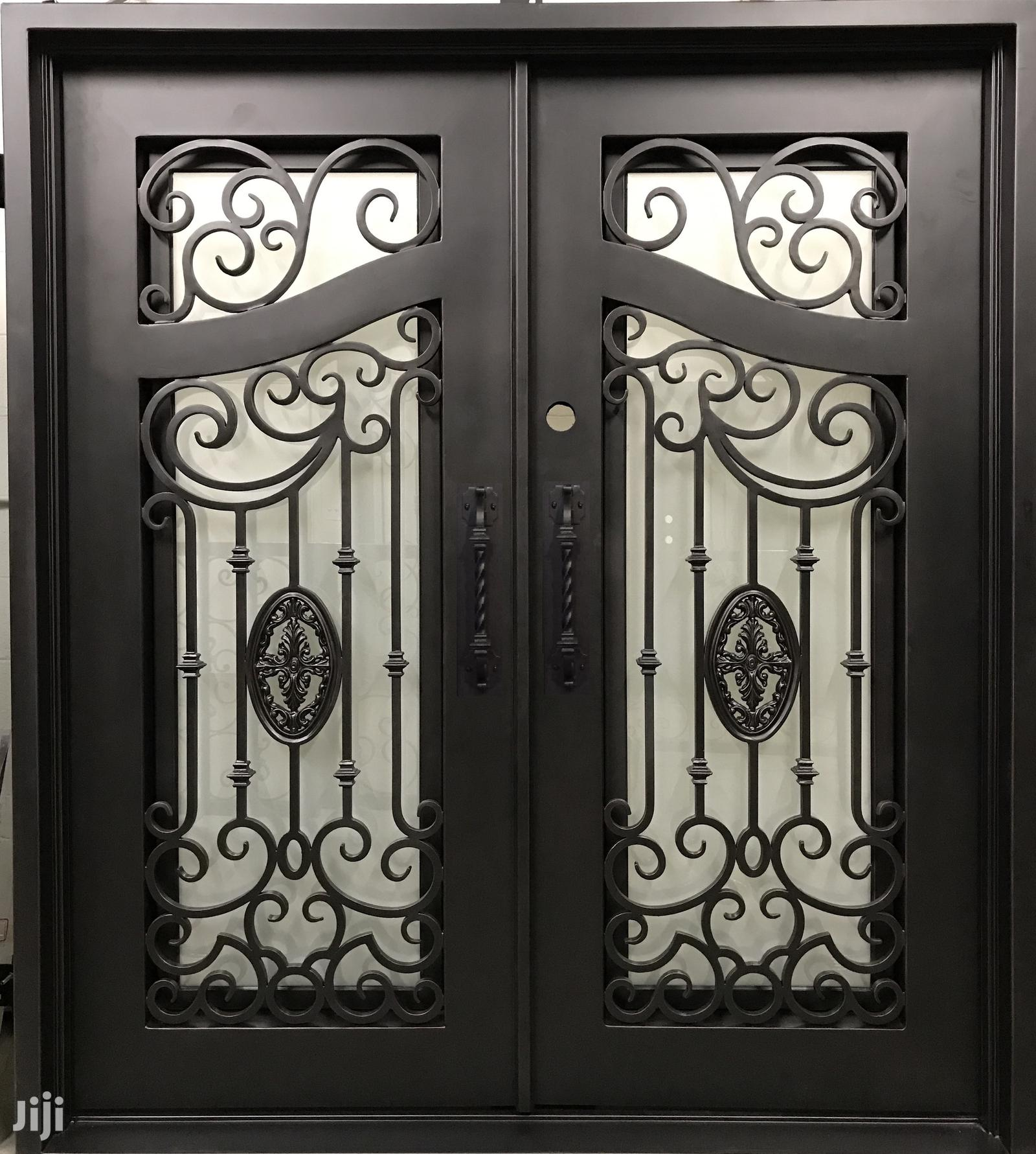 X310719 Wrought Iron Doors A