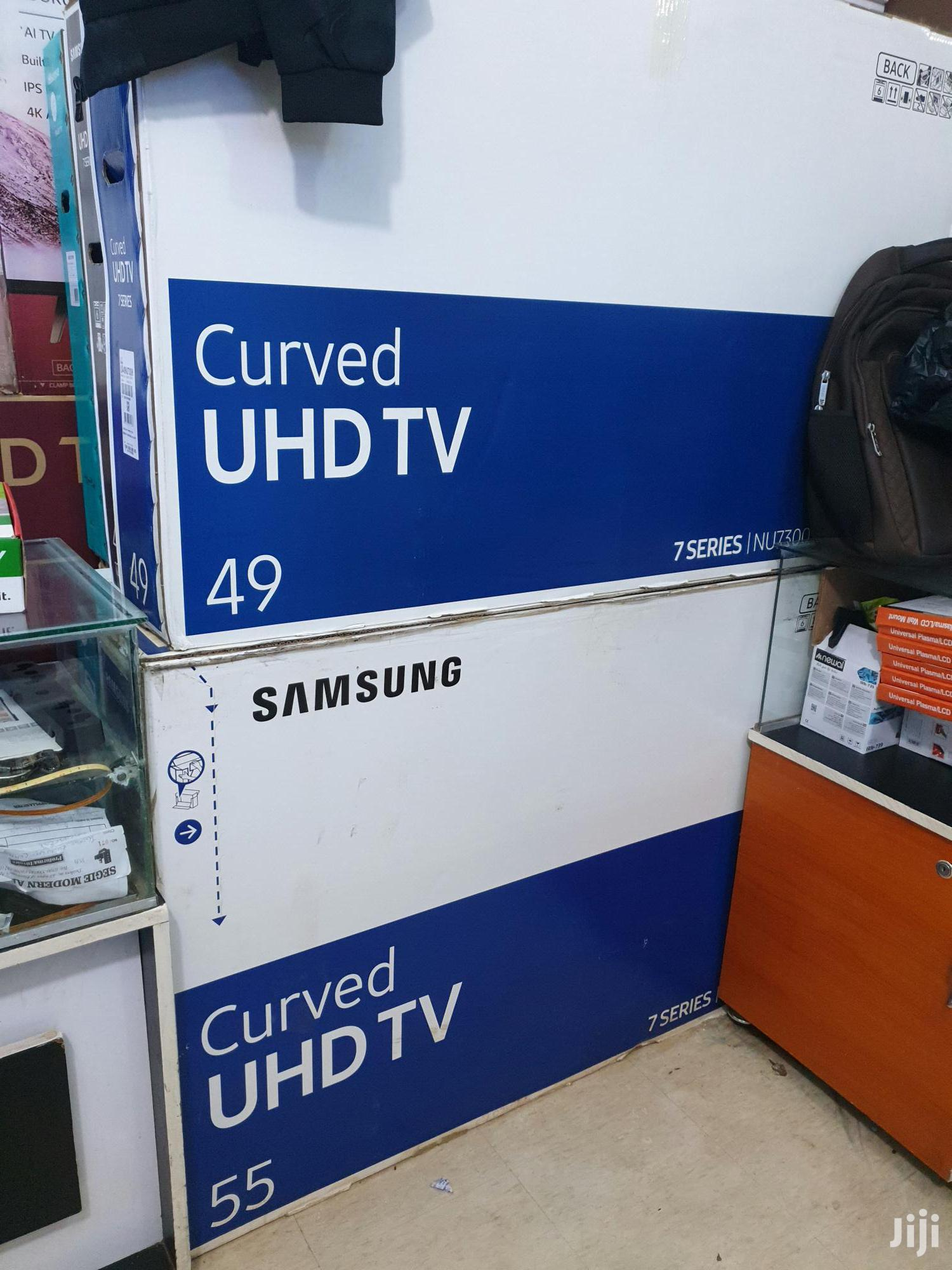 New Samsung 49 Inches Curve Uhd 4k Tv