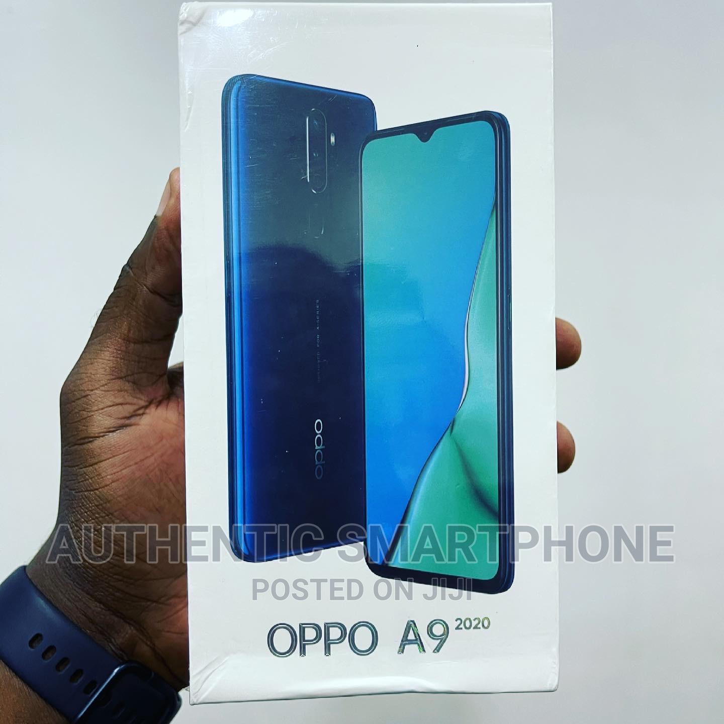 New Oppo A9 128 GB Blue