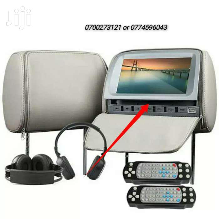 DVD Player With Video Games Headrest Player
