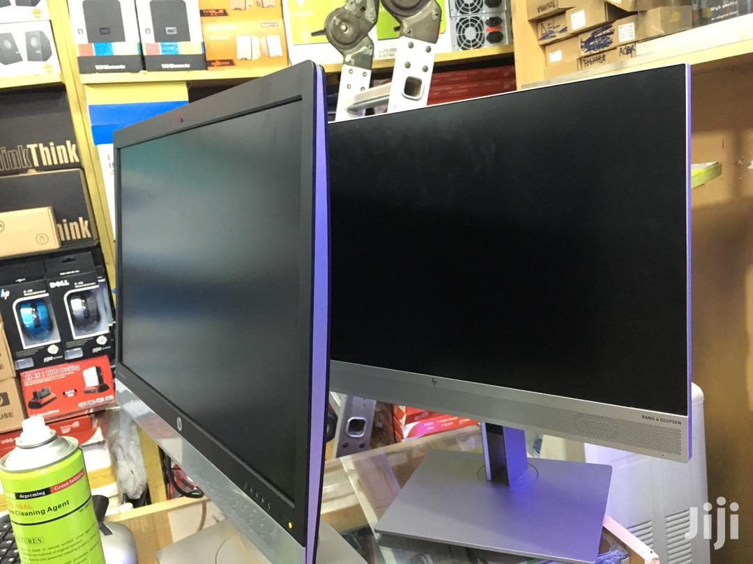 LED Flat Monitor Wide Hp Elite 24 Inches | Computer Monitors for sale in Kampala, Central Region, Uganda