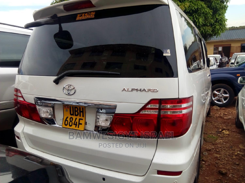 Toyota Alphard 2006 White   Cars for sale in Kampala, Central Region, Uganda