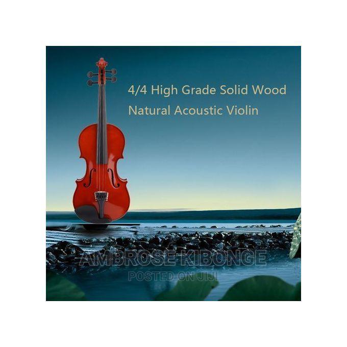 Solid Wood Violin 4/4
