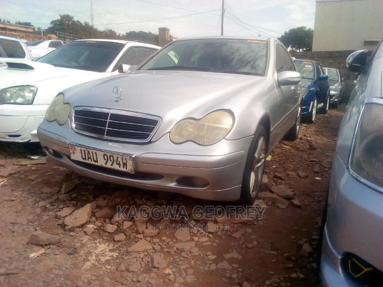 Mercedes-Benz C200 2003 Silver   Cars for sale in Kampala, Central Region, Uganda