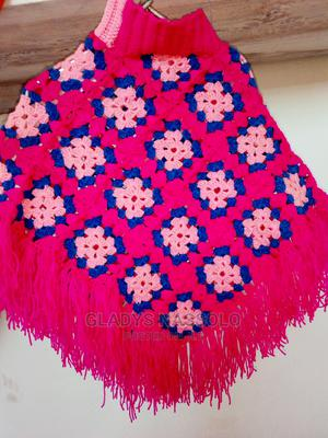 Pink Blue Poncho   Children's Clothing for sale in Central Region, Wakiso