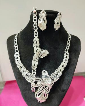 Silver Necklace Set Available   Jewelry for sale in Central Region, Kampala