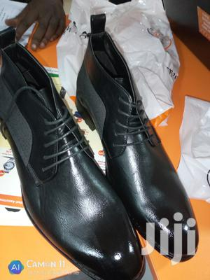 Men's ANKLE Boot Black   Shoes for sale in Central Region, Kampala