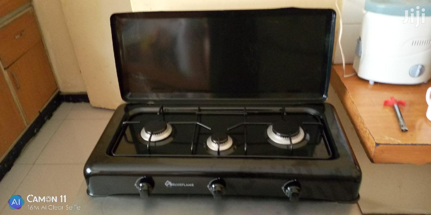 Triple Gas Top Burner