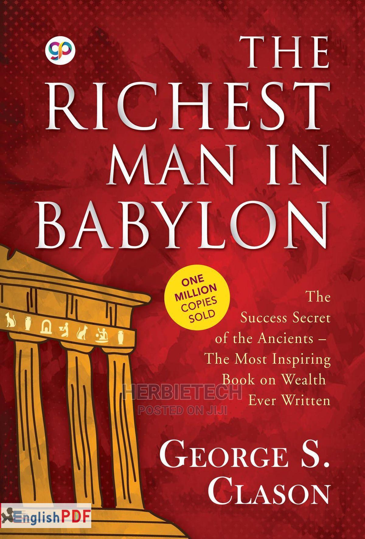 The Richest Man In Babylon George Samuel Clason