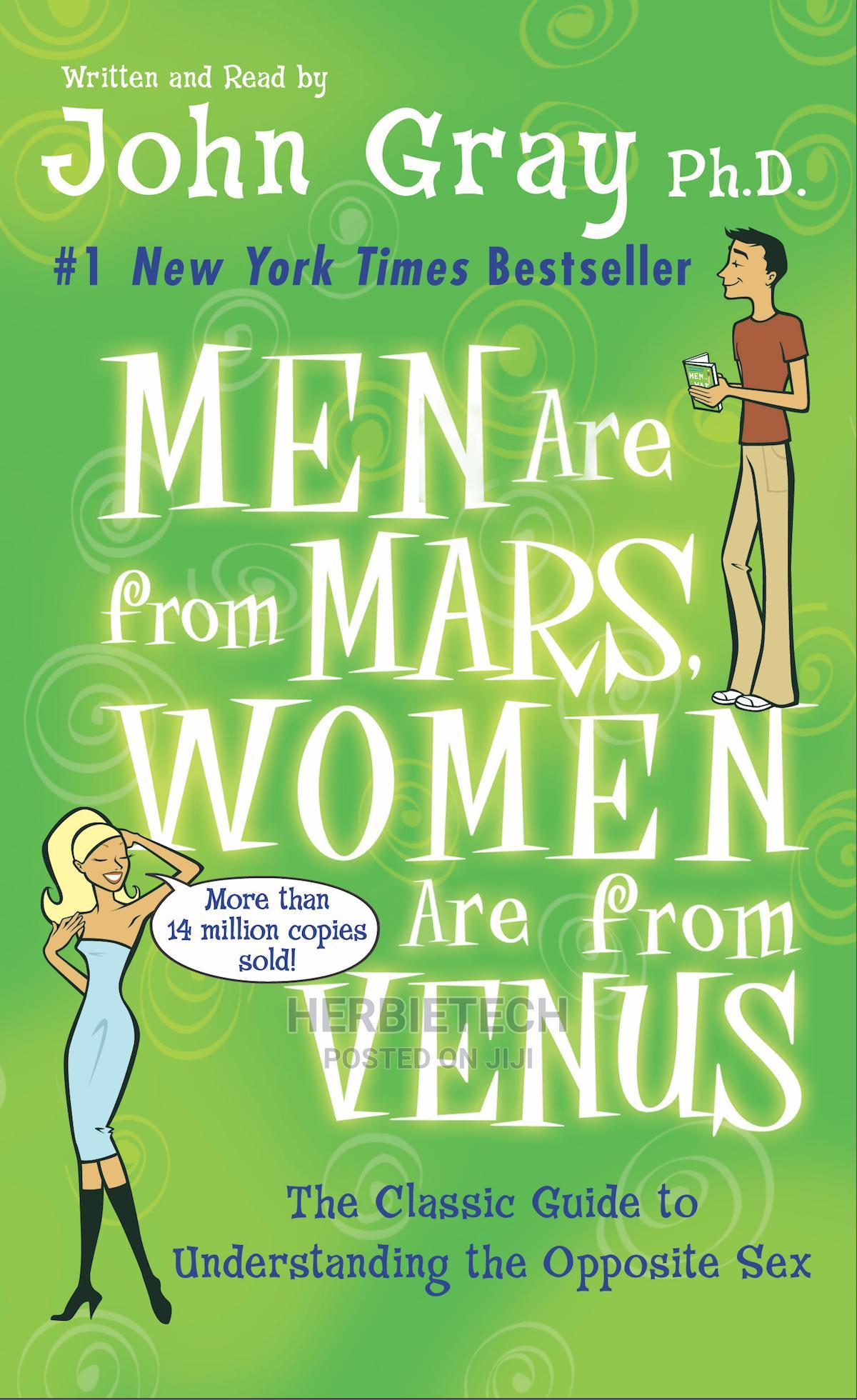Men Are From Mars Women Are From Venus John Gray
