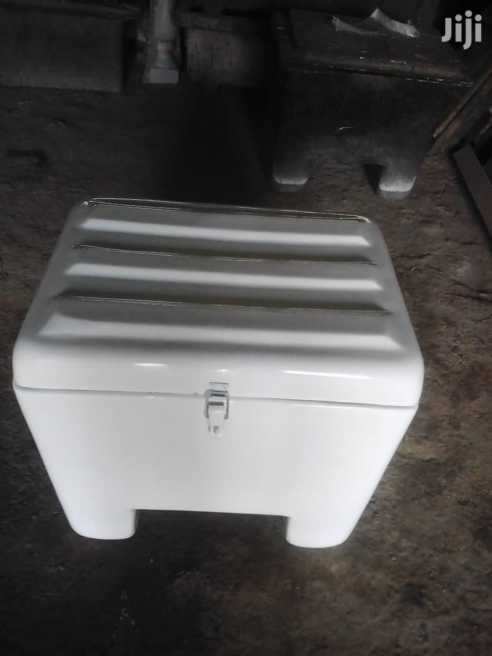We Make Fibreglass Carrier Boxes For Motorbikes For Deliveries