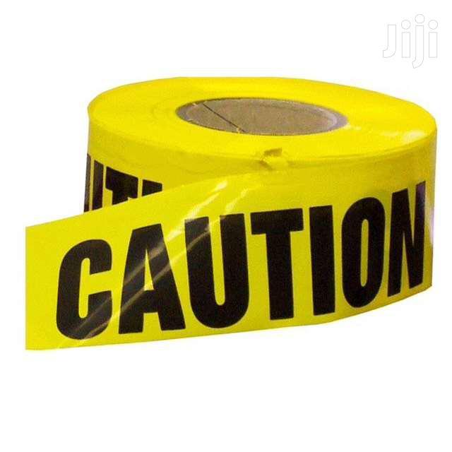 Warning Tape | Safety Equipment for sale in Kampala, Central Region, Uganda