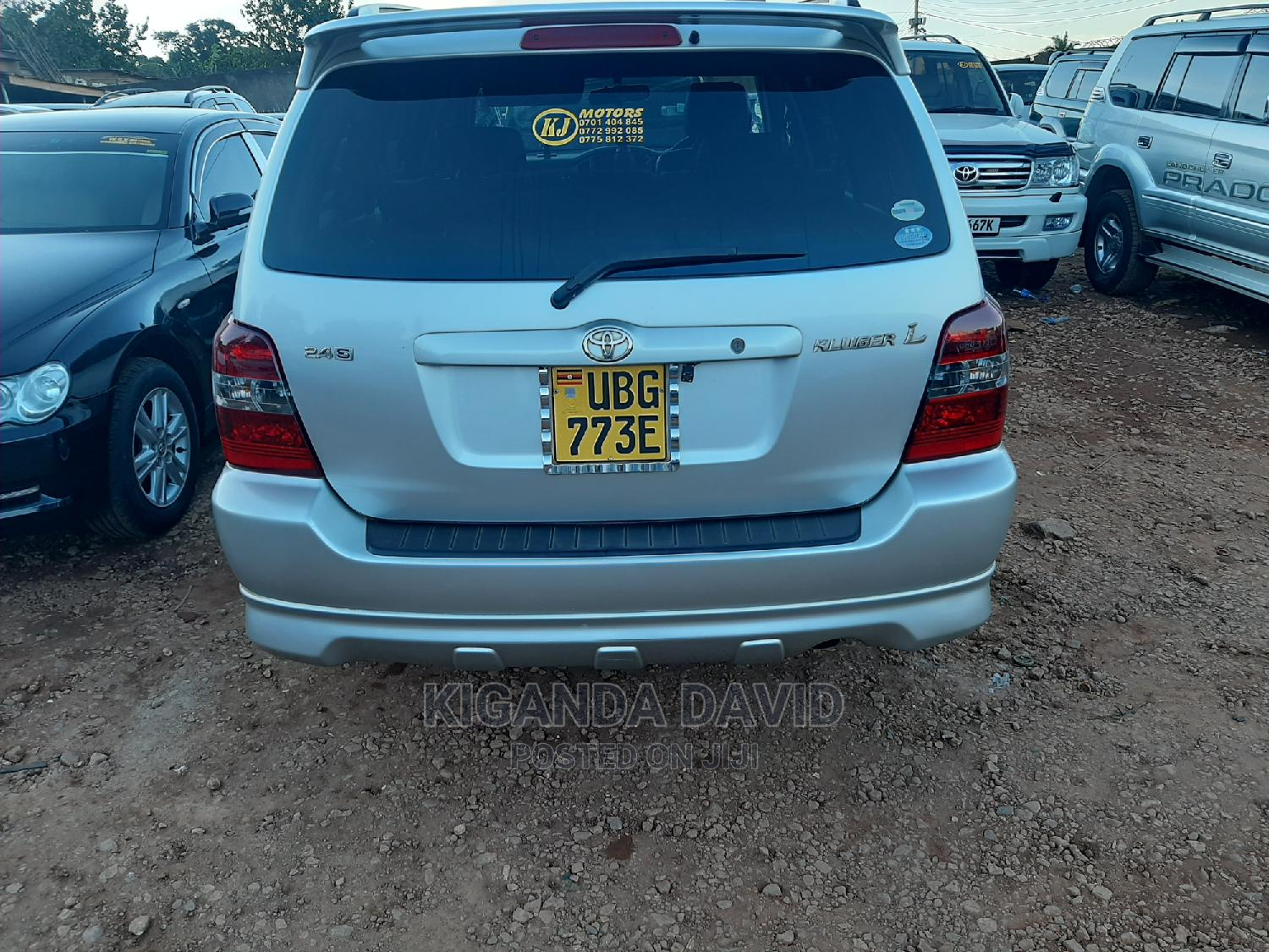 Toyota Kluger 2005 Silver