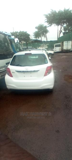 Toyota Vitz 2012 White   Cars for sale in Central Region, Kampala
