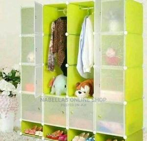 Plastic Frame Portable Wardrobe - Green | Furniture for sale in Central Region, Kampala