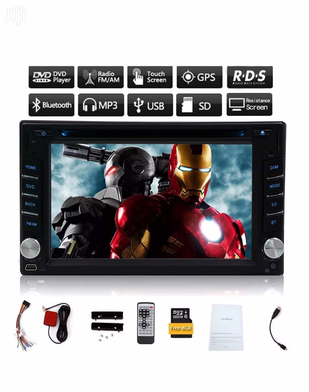 In Dash Car Bluetooth 2din Car DVD Player