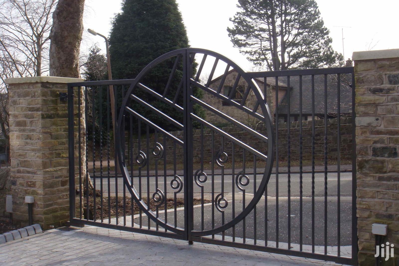 S030719 Wrought Iron Automatic Gates B