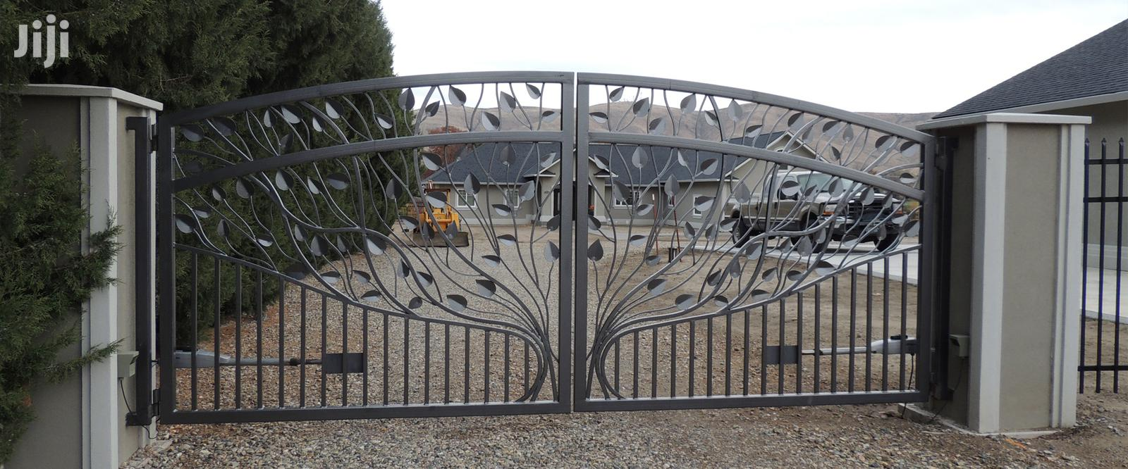 S030719 Wrought Iron Automatic Gates B | Doors for sale in Kampala, Central Region, Uganda