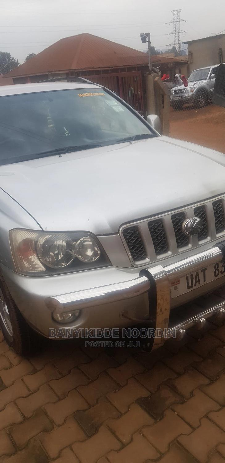 Archive: Toyota Kluger 2001 Silver