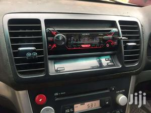 Sony Car Radio In Subaru Legacy