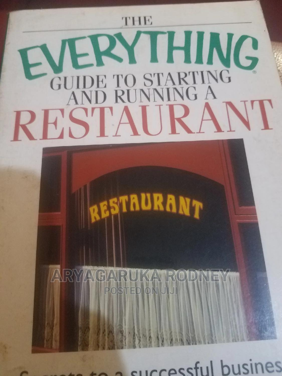 Archive: Classic Guide To Starting A Restaurant