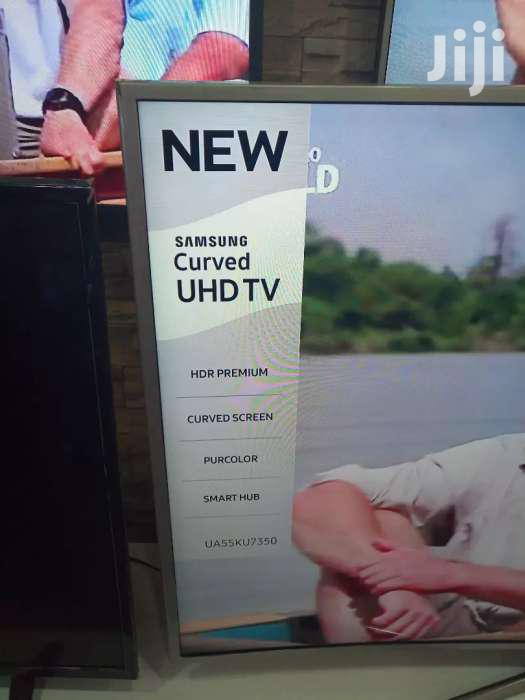 Brand New Samsung Curved Smart Tv 55 Inches
