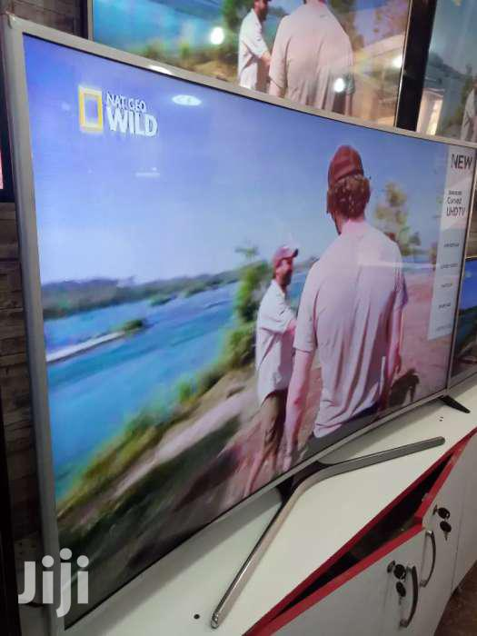 Brand New Samsung Curved Smart Tv 55 Inches | TV & DVD Equipment for sale in Kampala, Central Region, Uganda