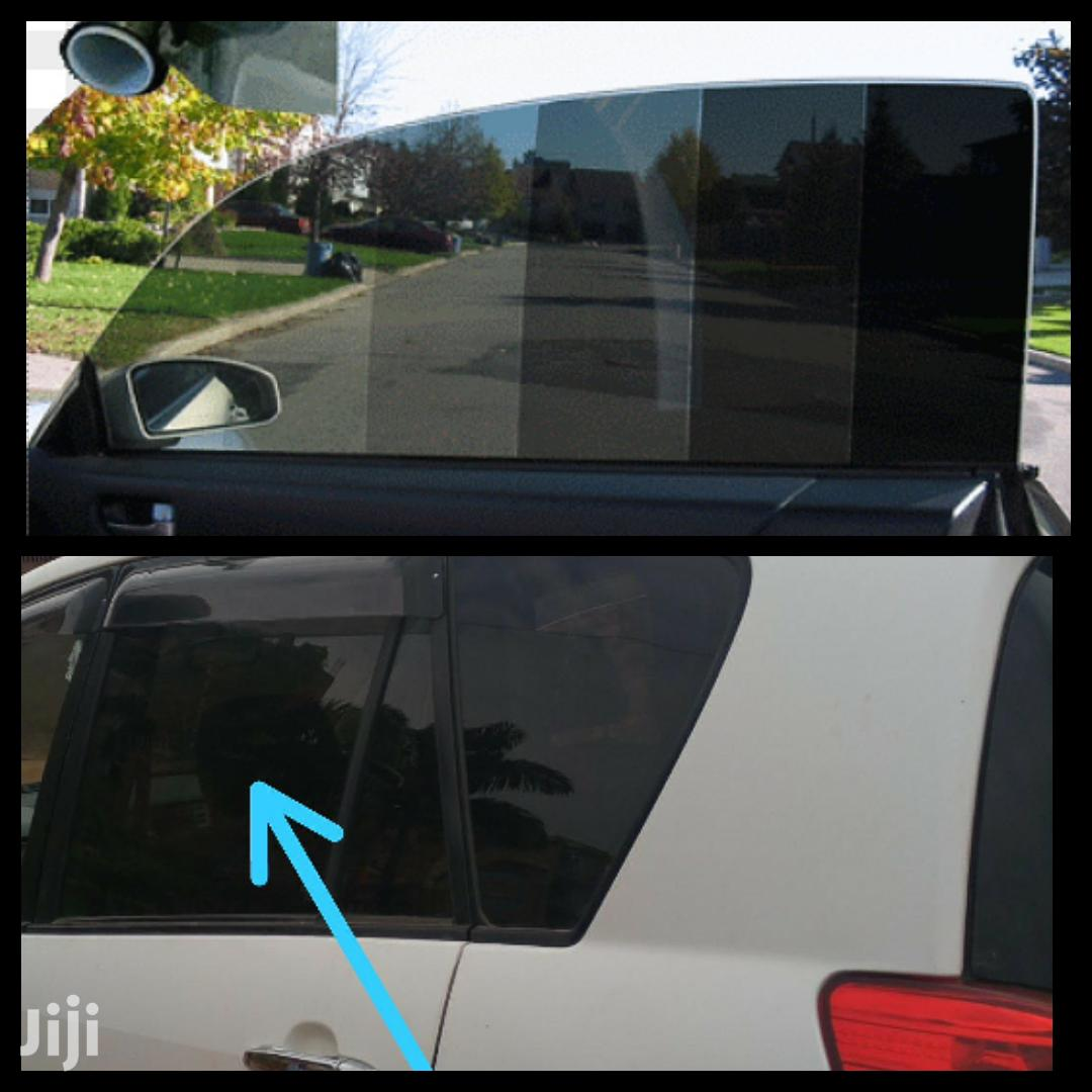 Tinting Car Glasses And Mirrors