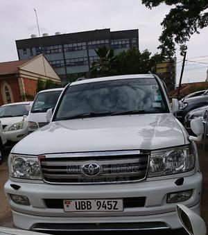 Toyota Land Cruiser 2006 White   Cars for sale in Central Region, Kampala