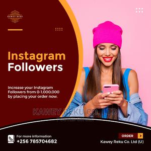Instagram Followers   Computer & IT Services for sale in Central Region, Kampala