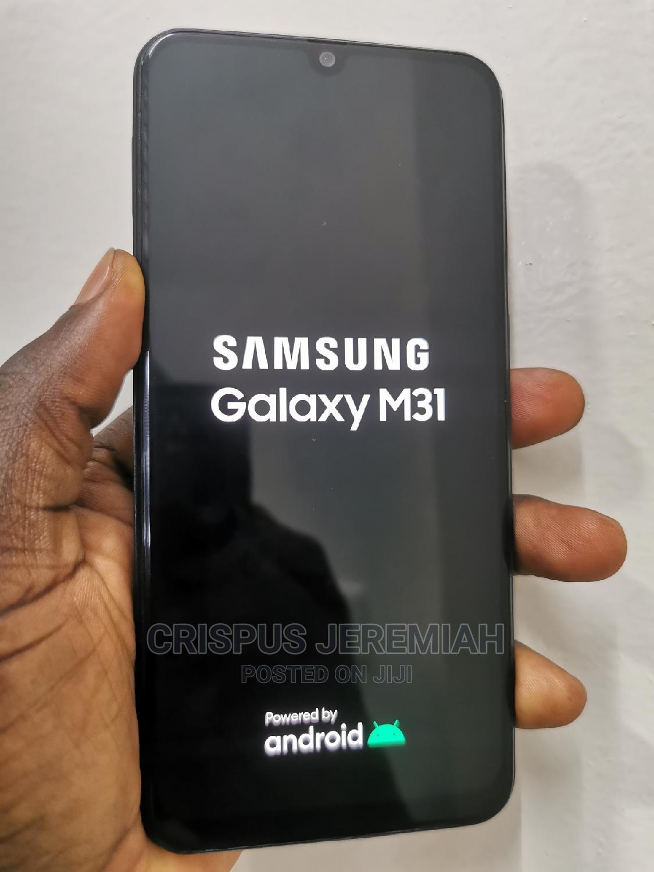 Samsung Galaxy M31 128 GB Black   Mobile Phones for sale in Kampala, Central Region, Uganda